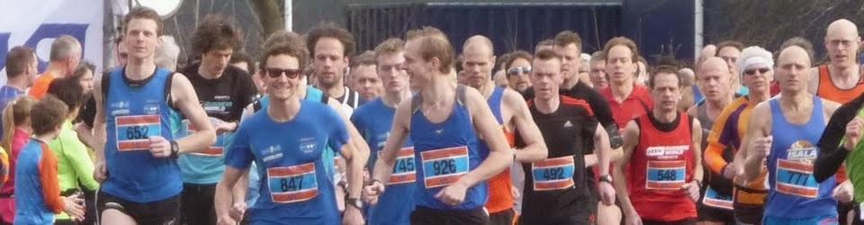 Halve marathon van Haren 12 maart 2016